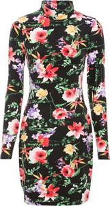 Sukienka bonprix z długim rękawem