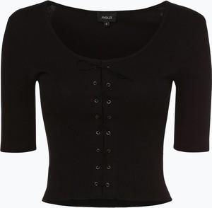 Czarny t-shirt Aygill`s z długim rękawem