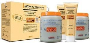 Guam - Lacote Zestaw Fanghi d'alga GUAM KLASYCZNY - Błotny koncentrat i żel wyszczuplający i antycellulitowy Guam klasyczny - 2(kg + 250ml)