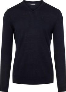 Niebieski sweter J. Lindeberg