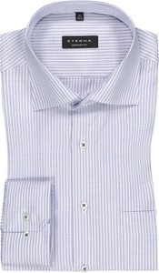 Koszula Eterna z długim rękawem z bawełny