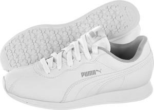 09b8d642 Buty sportowe Puma na koturnie ze skóry ekologicznej