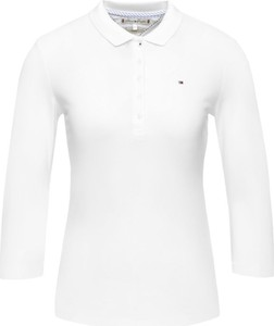 Bluzka Tommy Hilfiger z długim rękawem w stylu casual