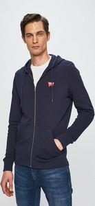 Granatowa bluza Wrangler z bawełny