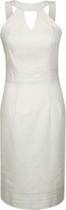 Sukienka Fokus w stylu klasycznym z dekoltem typu choker