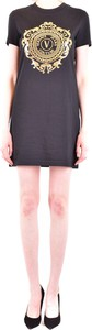 Sukienka Versace Jeans z krótkim rękawem
