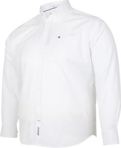 Koszula Bigsize z klasycznym kołnierzykiem z bawełny z długim rękawem