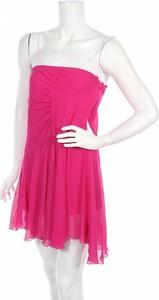 Różowa sukienka Nicofontana mini