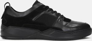 Buty sportowe Kazar z zamszu sznurowane w sportowym stylu