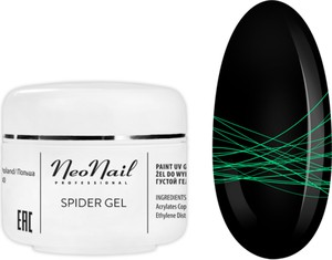 NeoNail Spider Gel 5 g - Neon Green