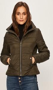 Brązowa kurtka Vero Moda krótka