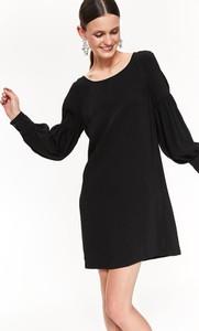 Czarna sukienka Top Secret w stylu casual