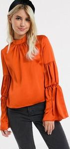 Bluzka Glamorous z długim rękawem z okrągłym dekoltem