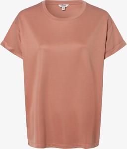 Różowy t-shirt mbyM z krótkim rękawem