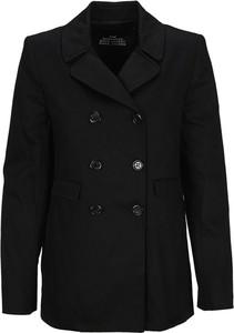Czarny płaszcz Marc Jacobs w stylu casual