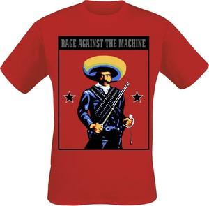 T-shirt Rage Against The Machine z krótkim rękawem