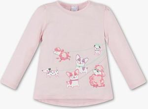 Różowa koszulka dziecięca Baby Club dla dziewczynek
