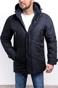 Czarna kurtka Risardi w stylu casual krótka