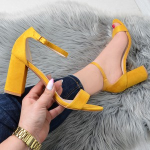 Żółte sandały Vices