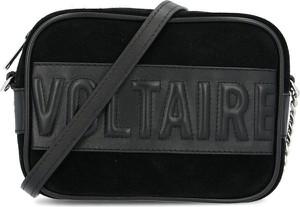 Czarna torebka Zadig & Voltaire ze skóry