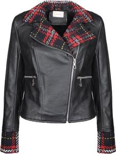 Czarna kurtka ubierzsie.com w rockowym stylu krótka
