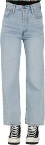 Niebieskie jeansy Levis z jeansu