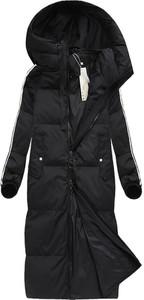 Czarny płaszcz ljr