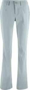 Miętowe spodnie bonprix bpc bonprix collection