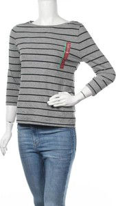 Bluzka Merona z długim rękawem w stylu casual