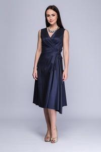 Sukienka Semper z tkaniny midi