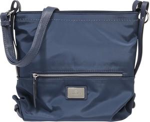Niebieska torebka Tom Tailor na ramię matowa