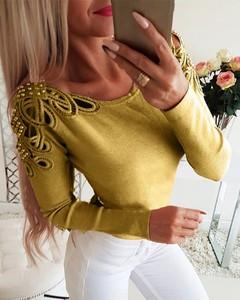 Żółta bluzka Kendallme w stylu casual