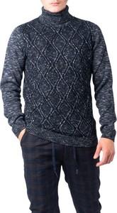 Granatowy sweter Hydra Clothing