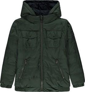 Zielona kurtka dziecięca Marc O'Polo dla chłopców