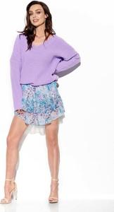 Spódnica Lemoniade w stylu casual mini z jedwabiu