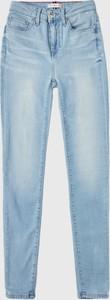 Niebieskie jeansy Tommy Hilfiger z bawełny