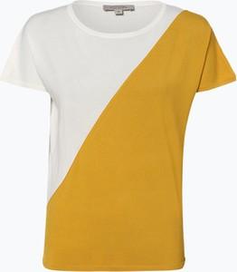 Żółty sweter comma, z dzianiny