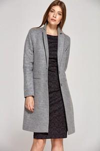 Płaszcz Nife z wełny w stylu casual