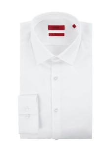 Koszula Hugo Boss z długim rękawem z klasycznym kołnierzykiem z bawełny
