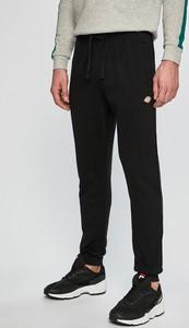 Czarne spodnie sportowe Dickies z bawełny
