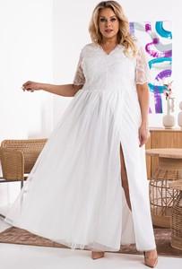 Sukienka KARKO trapezowa