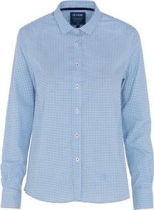 Niebieska koszula Ochnik z bawełny