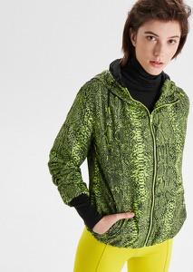 Zielona kurtka Cropp w stylu casual krótka