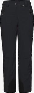 Czarne spodnie Icepeak w sportowym stylu