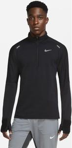 Czarna bluza Nike z plaru w sportowym stylu