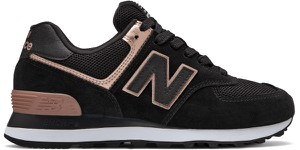 Buty sportowe New Balance z płaską podeszwą sznurowane