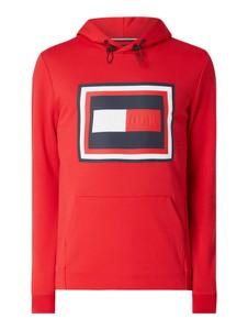 Czerwona bluza Tommy Hilfiger z nadrukiem