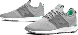Buty sportowe New Balance na koturnie sznurowane w sportowym stylu