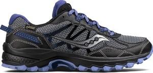 Buty sportowe Saucony z płaską podeszwą w sportowym stylu z goretexu