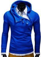 Niebieska bluza ombre clothing